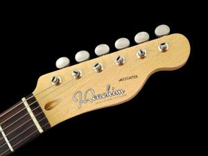 J Leachim Jazzcaster – headstock